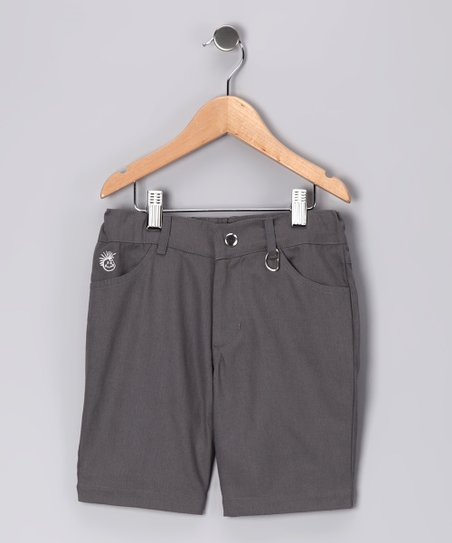 Gray Rocker Shorts - Infant, Toddler & Boys