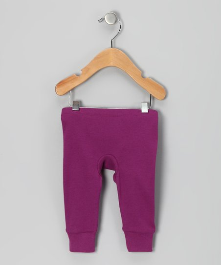 Beetle Berry Organic Gusset Pants - Infant