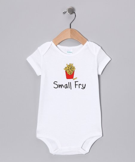White 'Small Fry' Bodysuit - Infant