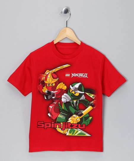 LEGO Red Ninjago 'Spinjitzu' Tee - Boys