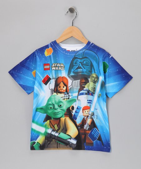 Blue LEGO Star Wars Sublistatic Tee - Kids