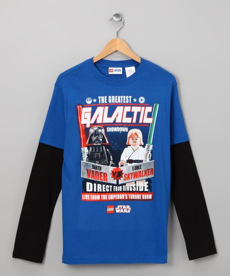 LEGO 'Galactic Showdown' Layered Tee - Toddler & Boys