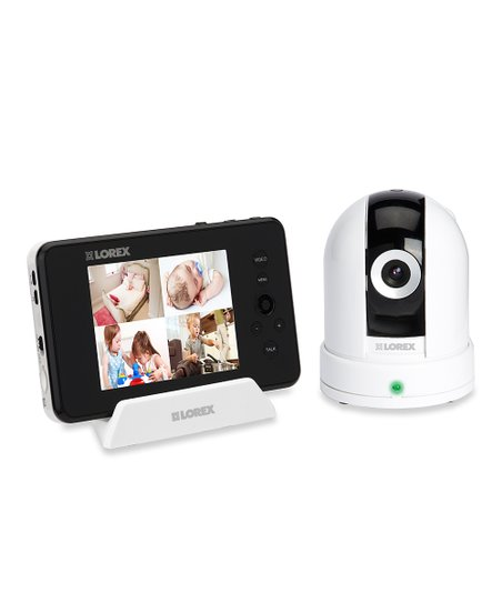 Wireless Baby Monitoring System &amp; Pan &amp; Tilt Camera