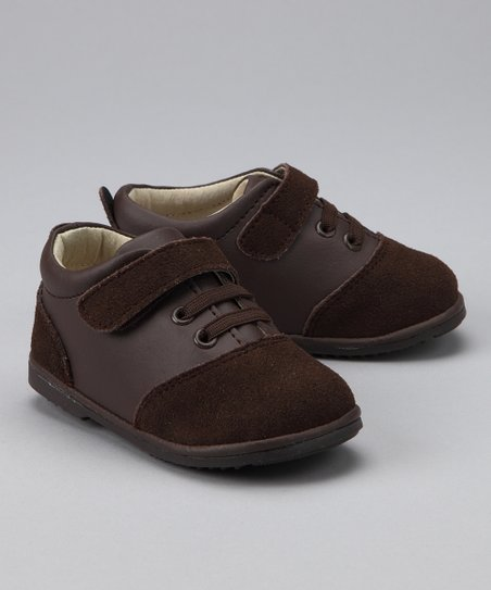 Brown Two-Tone Oxfords