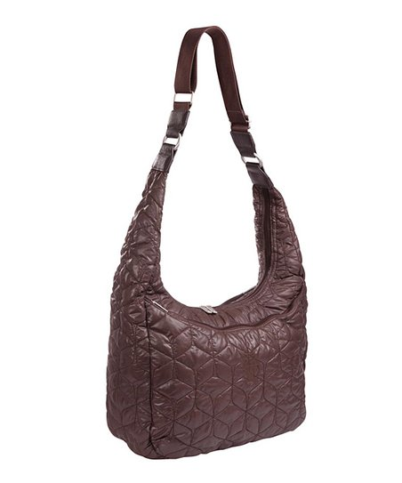 Chocolate Glam Banana Diaper Bag