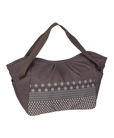 Slate Casual Twin Diaper Bag