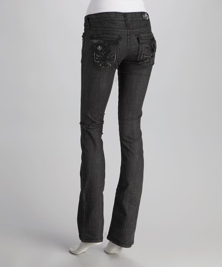 Laguna Beach Black Dana Point Straight-Leg Jeans