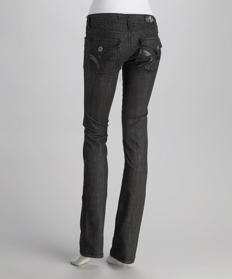 Laguna Beach Black Seal Beach Straight-Leg Jeans