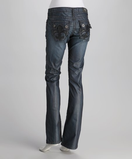 Laguna Beach Raw Blue Hermosa Beach Straight-Leg Jeans