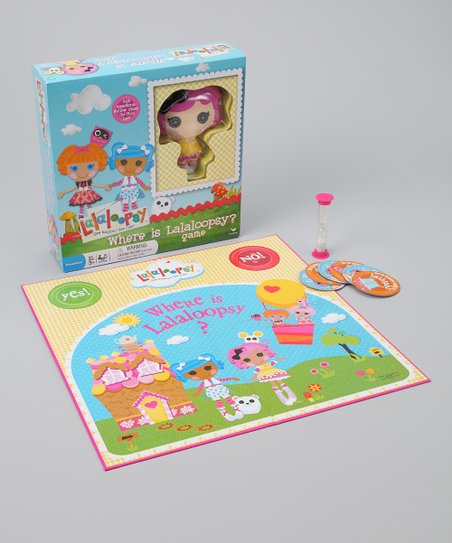 Where is Lalaloopsy? Game