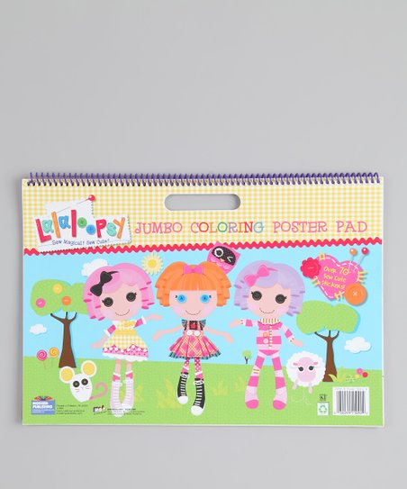 Lalaloopsy Jumbo Coloring Poster Pad