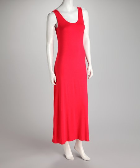 Red Maxi Dress