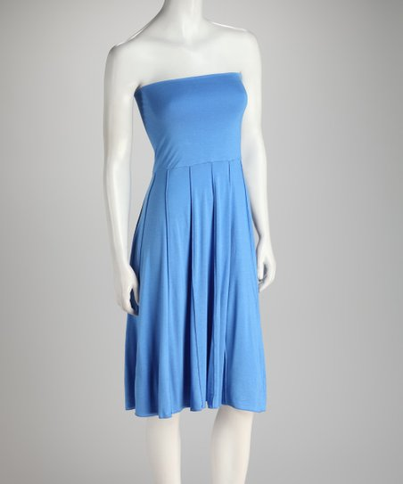 Blue Convertible Dress