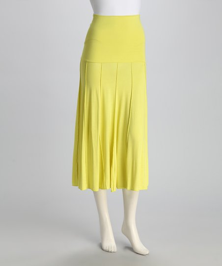 Yellow Convertible Skirt