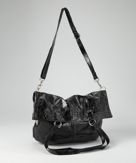 Black Willow Foldover Tote