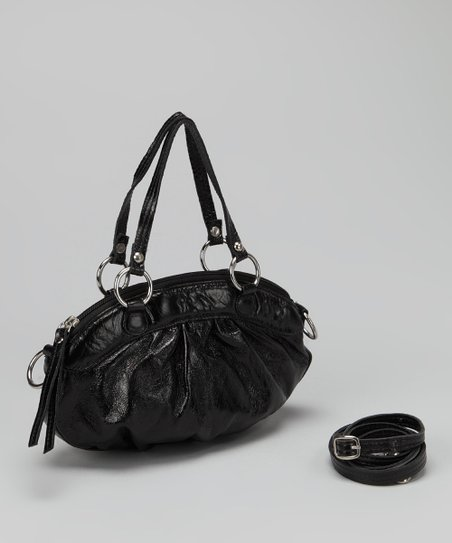 Black Violet Shoulder Bag