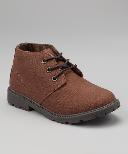 Brown Desert Boot - Kids