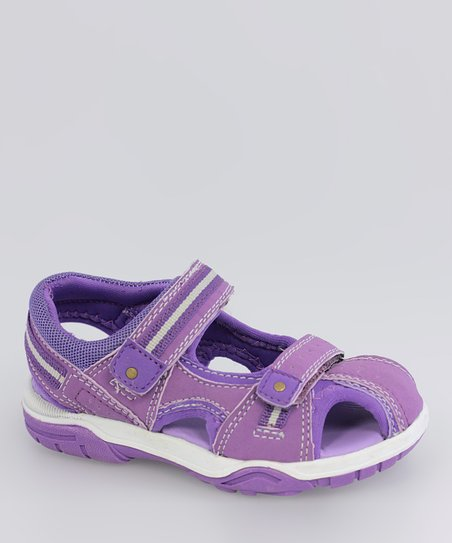 Purple Playground Sandal - Kids