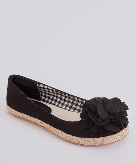 Black Lulu Flat - Girls