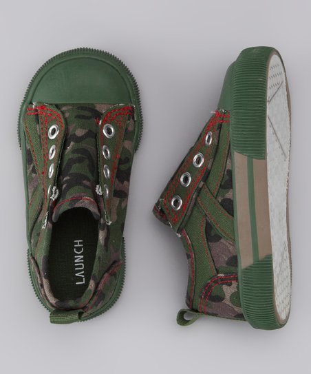 Camo Slip-On Sneaker - Kids