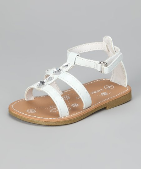 White Gem Sandal