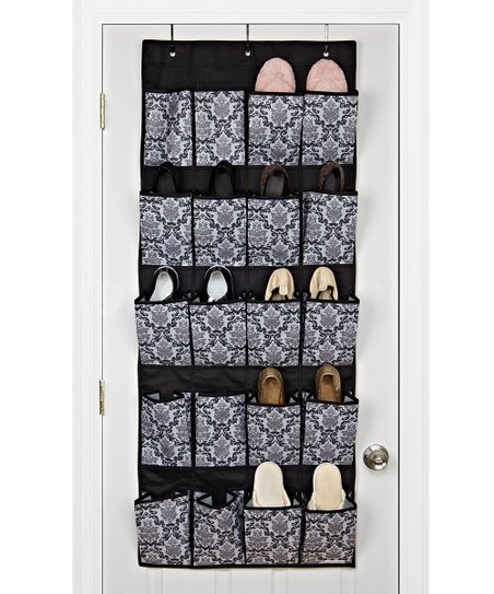Delancy 20-Pocket Over-Door Shoe Organizer