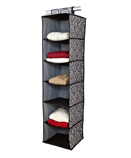 Delancy Six-Shelf Hanging Sweater Organizer