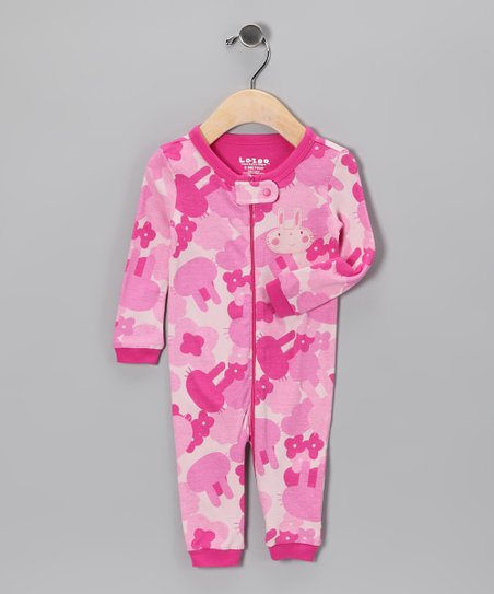Pink Camo Playsuit - Infant