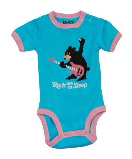 Blue 'Rock Me to Sleep' Bodysuit - Infant