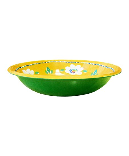 Yellow Campania Salad Bowl
