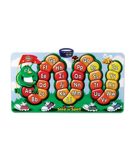 Alphabug Step 'n' Spell Game