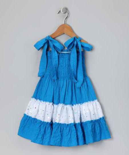 Blue Sundress - Toddler & Girls