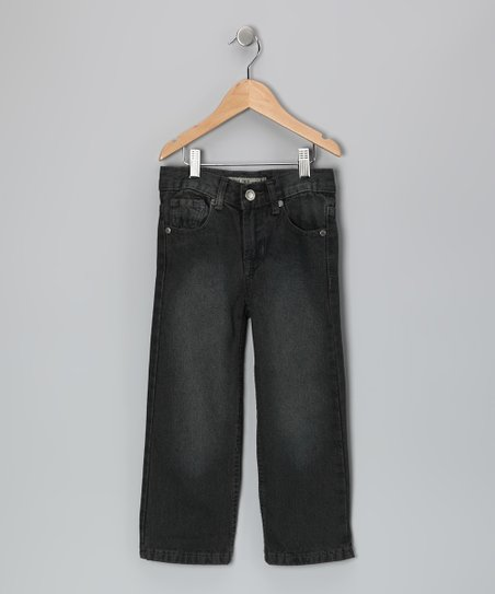 Blue Over-Dyed Fashion Denim Jeans - Toddler
