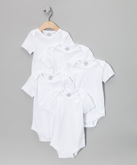 White Bodysuit Set - Infant