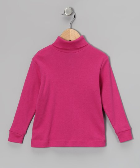 Magenta Turtleneck - Toddler