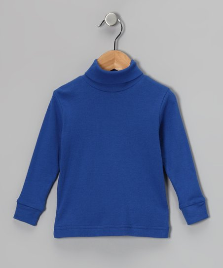 Royal Blue Turtleneck - Boys