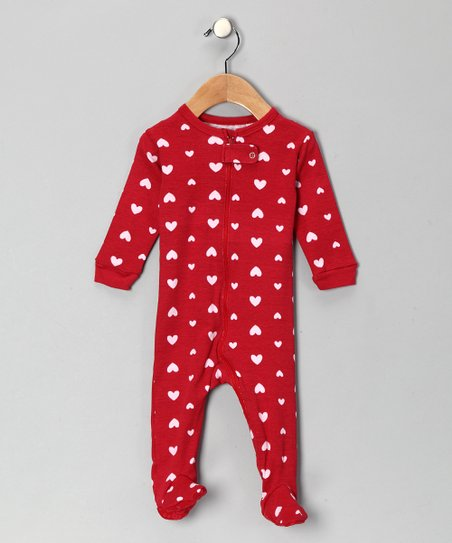 Red Heart Footie - Toddler