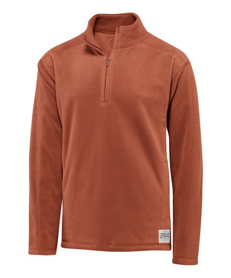 Copper Microfleece Pullover - Men