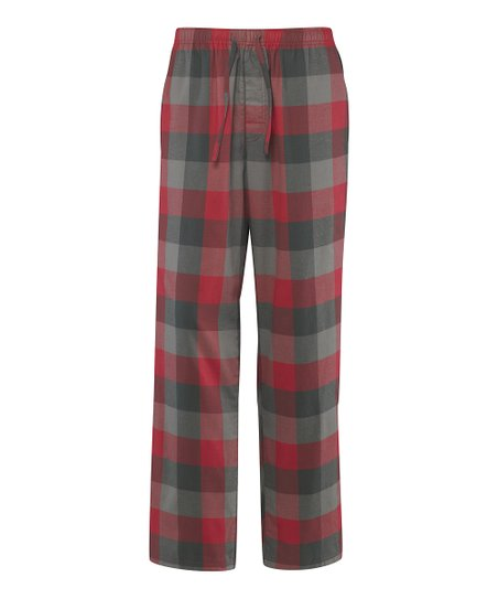 Simply Red Plaid Pajama Pants - Men