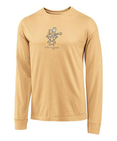 Classic Gold 'Acoustic Crusher' Long-Sleeve Tee - Men