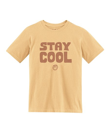Classic Gold 'Stay Cool' Creamy Tee - Toddler & Boys