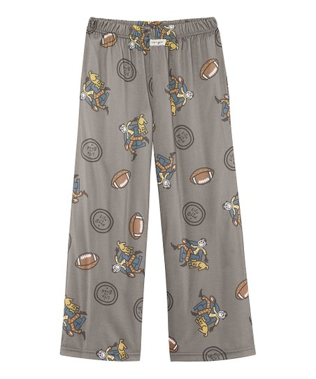 Warm Gray Game On Pajama Pants - Boys