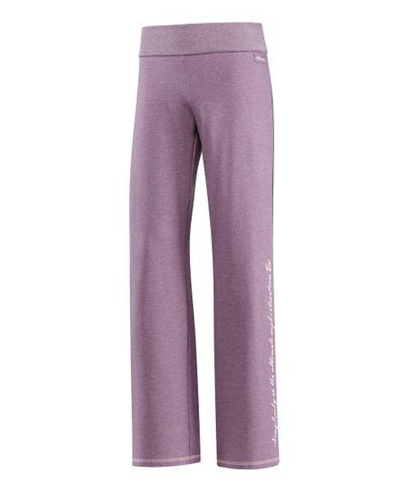 Pale Plum French Terry Lounge Pants - Women