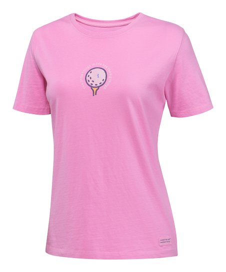 Peony Pink Golf Crusher Short-Sleeve Tee - Women