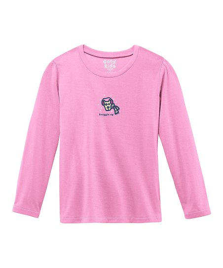 Peony Pink 'Snuggle Up' Sleep Shirt - Toddler & Girls