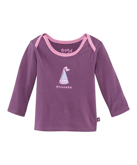 Plum 'Princess' Lap Neck Tee - Infant