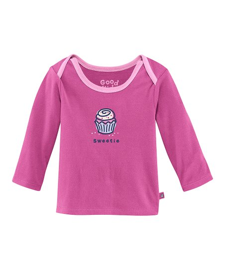 Magenta 'Sweetie' Lap Neck Tee - Infant