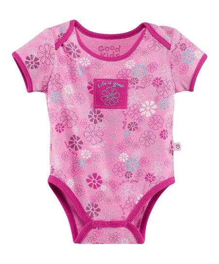 Peony Pink Jamboree Flower Bodysuit - Infant