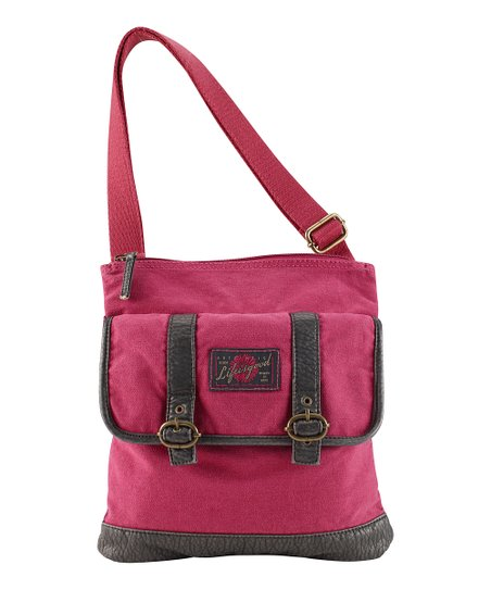 Dusty Pink Crossbody Bag