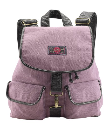Plum Slouchy Backpack